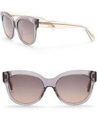 Just Cavalli - Modified 56mm Plastic Sunglasses - Lyst