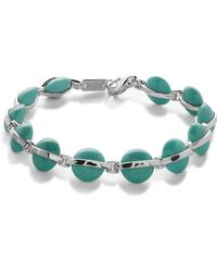Ippolita - Sterling Silver Senso Wrapped Turquoise Bracelet - Lyst