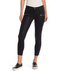 James Jeans - James Twiggy Ankle Zip Pocket Jeans - Lyst