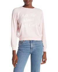 Wildfox - My Cat Junior Sweatshirt - Lyst