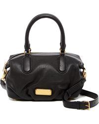 Marc Jacobs - New Q Small Legend Leather Satchel Shoulder Bag - Lyst