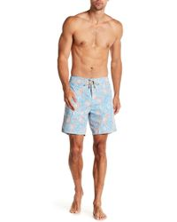 Faherty Brand - Paisley Classic Board Shorts - Lyst