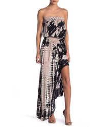 Young Fabulous & Broke - Kylie Strapless Hi-lo Maxi Dress - Lyst