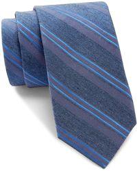 CALVIN KLEIN 205W39NYC - Sapphire Pinstripe Tie - Lyst