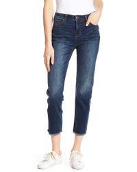 Joe Fresh - Girlfriend Straight Leg Jeans - Lyst