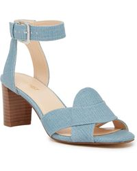 Nine West - Paid Up Ankle Strap Sandal - Lyst