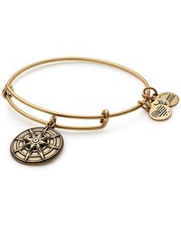 ALEX AND ANI - Star Of Venus Iii Charm Expandable Wire Bracelet - Lyst