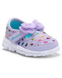 Skechers - Go Walk Bitty Heart Sneaker (baby) - Lyst