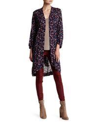 Oober Swank - Printed Kimono - Lyst
