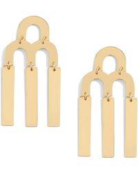 J.Crew - Tuning Fork Chandelier Earrings - Lyst