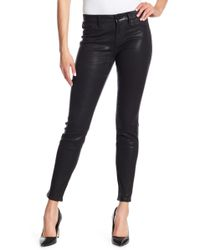 Level 99 - Janice Ultra Skinny Waxed Jeans - Lyst