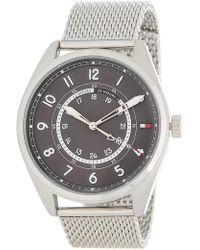 Tommy Hilfiger - Men's Dylan Mesh Bracelet Watch, 44mm - Lyst