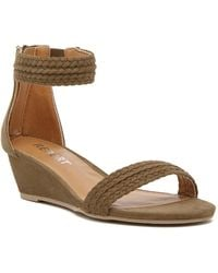 Report - Madge Wedge Sandal - Lyst
