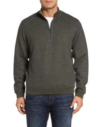 Tommy Bahama - Flipsider Reversible Quarter-zip Pullover - Lyst