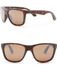 d93472d972 Lyst - Revo Otis Polarized 58mm Square Sunglasses in Brown for Men