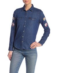 Levi's - Ultimate Western Embroidered Button Down Shirt - Lyst