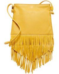 Hobo - Meadow Fringe Leather Crossbody Bag - Lyst