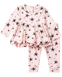 Jessica Simpson - Star Print Top & Pants 2-piece Set (baby Girls) - Lyst
