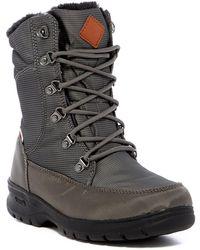 Kamik - Bronx Faux Fur Lined Waterproof Nylon Boot - Lyst