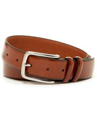 Boconi - Fens Double Loop Leather Dress Belt - Lyst