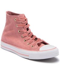 894a3ef171c7 Converse - Chuck Taylor All Star Embossed Velvet High Top Sneaker (women) -  Lyst