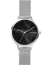 Skagen - Women's Anita Mesh Bracelet Watch, 34mm - Lyst