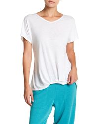Warrior by Danica Patrick Active - Twisted Hem Short Sleeve Tee - Lyst