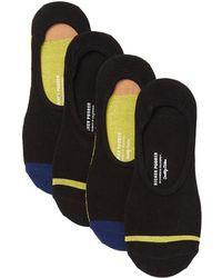 Richer Poorer - Spade No Show Socks - Pack Of 4 - Lyst