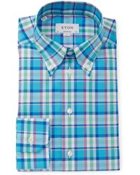 Eton of Sweden - Contemporary Fit Dress Shirt - Lyst