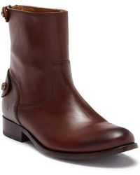 Frye - Melissa Button Back Zip Short Boot - Lyst