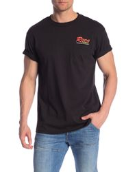 RVCA - Bonded Graphic Pocket Tee - Lyst