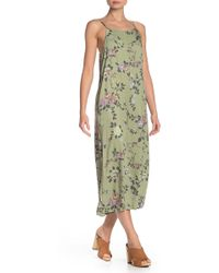 Mustard Seed - Floral Flare Jumpsuit - Lyst