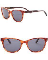 Bottega Veneta - 51mm Square Cat Eye Sunglasses - Lyst