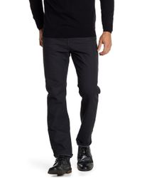 Bugatchi - Solid Trousers - Lyst