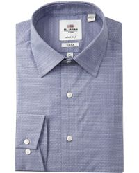 Ben Sherman - Stretch Slub Florentine Tailored Slim Fit Dress Shirt - Lyst