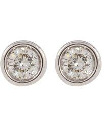 Ron Hami - 14k White Gold Diamond Stud Earrings - 0.07 Ctw - Lyst