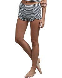 Volcom - Lil Stripe Shorts - Lyst
