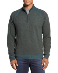Robert Graham - Jovanni Wool Quarter Zip Jumper - Lyst