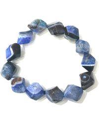 Charlene K - Agate Gemstone Bracelet - Lyst