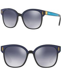 Prada - 53mm Square Sunglasses - Lyst