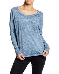 Threads For Thought - Brielle Heathered Long Sleeve Graphic Tee - Lyst
