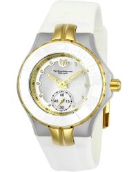 TechnoMarine - Women's Cruise Ceramic Diamond Sport Watch - 0.50 Ctw - Lyst