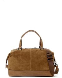 Frye - Chris Suede Overnight Duffle - Lyst