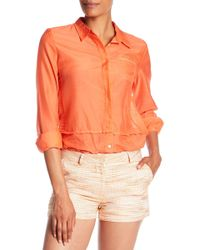 Quinn - Korin Button Up - Lyst