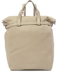 Liebeskind Berlin - Belfast Gathered Top Handle Leather Backpack Tote - Lyst