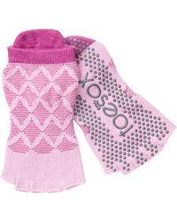 ToeSox - Rosa Low Rise Grip Socks - Lyst