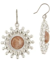 Lucky Brand - Dusty Drop Earrings - Lyst