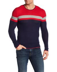 Parke & Ronen - Colorblock Thermal Tee - Lyst