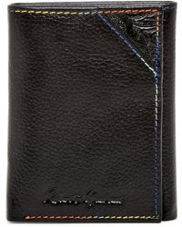 Robert Graham - Clarke Leather Trifold Wallet - Lyst