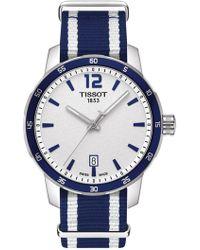 Tissot - Quickster Nato Strap Watch - Lyst